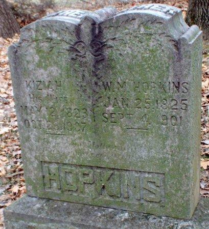 BECK HOPKINS, KIZIAH - Jasper County, Missouri | KIZIAH BECK HOPKINS - Missouri Gravestone Photos