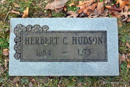 HUDSON, HERBERT C. - Jasper County, Missouri   HERBERT C. HUDSON - Missouri Gravestone Photos