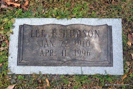 HUDSON, LEE E. - Jasper County, Missouri   LEE E. HUDSON - Missouri Gravestone Photos