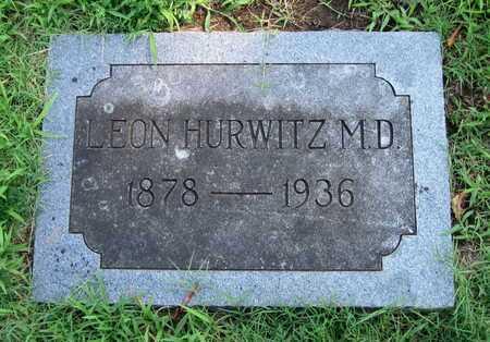 HURWITZ, LEON DR - Jasper County, Missouri | LEON DR HURWITZ - Missouri Gravestone Photos