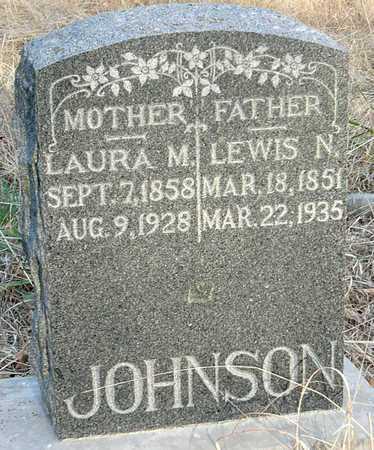 JOHNSON, LAURA M - Jasper County, Missouri | LAURA M JOHNSON - Missouri Gravestone Photos
