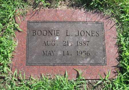 BYLER JONES, BONNIE L - Jasper County, Missouri | BONNIE L BYLER JONES - Missouri Gravestone Photos