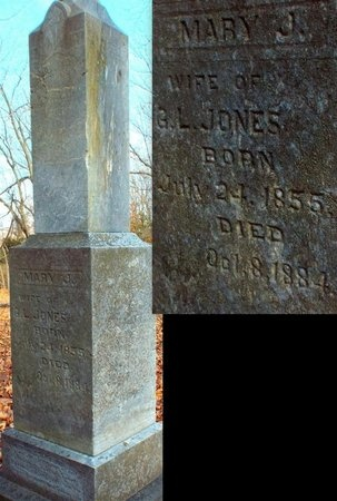 JONES, MARY J - Jasper County, Missouri | MARY J JONES - Missouri Gravestone Photos