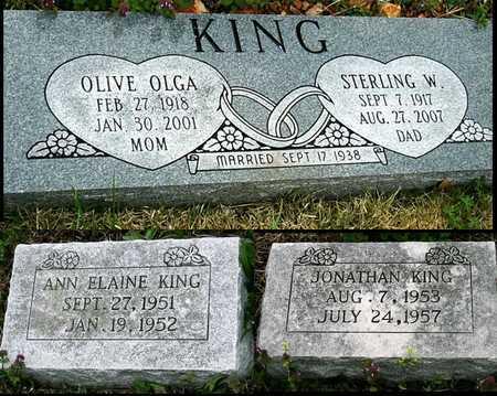 KING, OLIVE OLGA - Jasper County, Missouri | OLIVE OLGA KING - Missouri Gravestone Photos