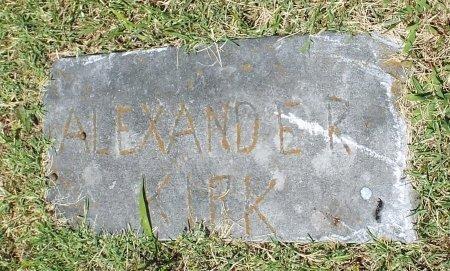 KIRK, ALEXANDER - Jasper County, Missouri   ALEXANDER KIRK - Missouri Gravestone Photos