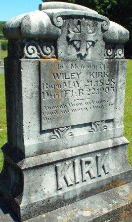 KIRK, WILEY ALEXANDER - Jasper County, Missouri | WILEY ALEXANDER KIRK - Missouri Gravestone Photos