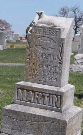 MARTIN, ELIZABETH JANE - Jasper County, Missouri | ELIZABETH JANE MARTIN - Missouri Gravestone Photos