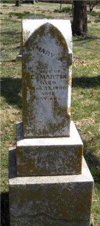 MARTIN, MARY A - Jasper County, Missouri | MARY A MARTIN - Missouri Gravestone Photos