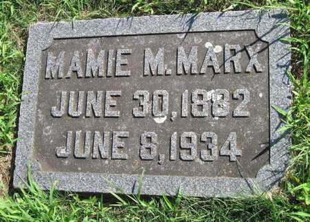 BERMAN MARX, MAMIE M - Jasper County, Missouri | MAMIE M BERMAN MARX - Missouri Gravestone Photos