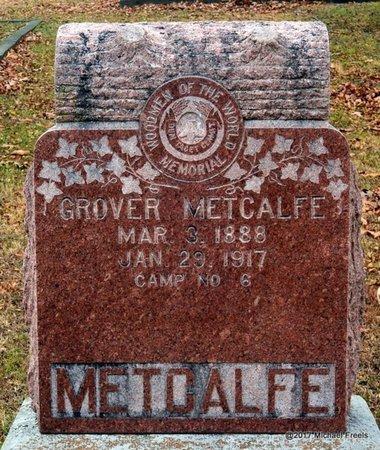 METCALFE, GROVER - Jasper County, Missouri | GROVER METCALFE - Missouri Gravestone Photos