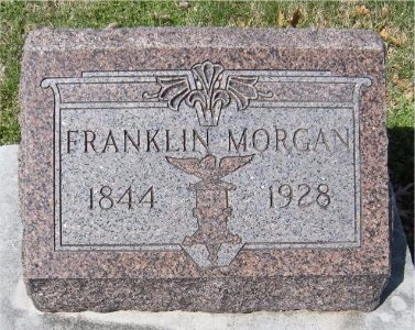 MORGAN, FRANKLIN - Jasper County, Missouri | FRANKLIN MORGAN - Missouri Gravestone Photos