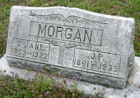 MORGAN, SUSAN JANE - Jasper County, Missouri   SUSAN JANE MORGAN - Missouri Gravestone Photos