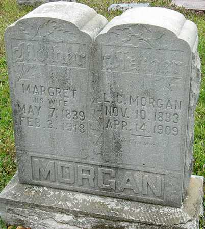 MORGAN, LEWIS C - Jasper County, Missouri | LEWIS C MORGAN - Missouri Gravestone Photos