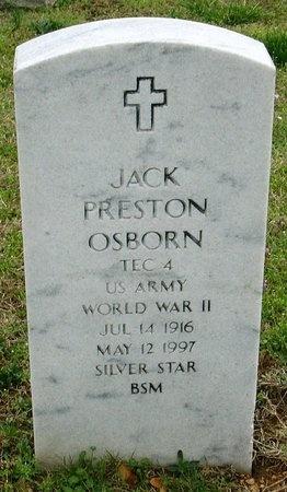 OSBORN, JACK PRESTON (VETERAN WWII) - Jasper County, Missouri | JACK PRESTON (VETERAN WWII) OSBORN - Missouri Gravestone Photos