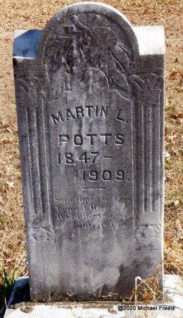 POTTS, MARTIN L - Jasper County, Missouri | MARTIN L POTTS - Missouri Gravestone Photos