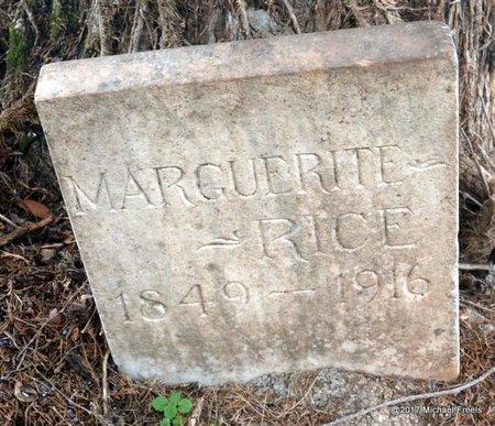 RICE, MARGUERITE - Jasper County, Missouri | MARGUERITE RICE - Missouri Gravestone Photos