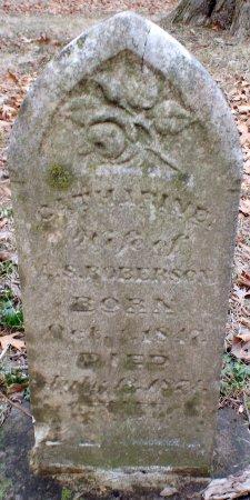 ROBERSON, CATHARINE - Jasper County, Missouri   CATHARINE ROBERSON - Missouri Gravestone Photos