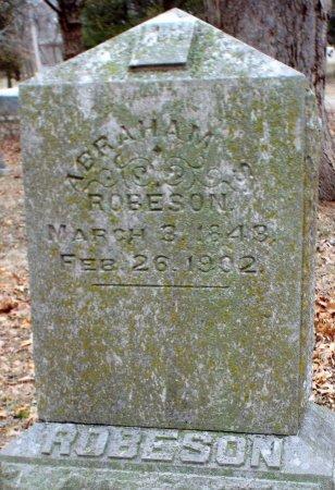 ROBERSON, ABRAHAM S - Jasper County, Missouri | ABRAHAM S ROBERSON - Missouri Gravestone Photos