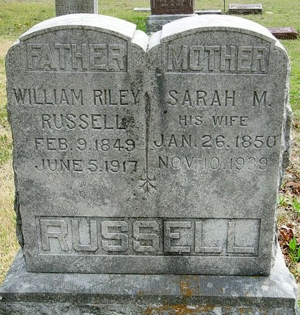 RUSSELL, WILLIAM RILEY - Jasper County, Missouri | WILLIAM RILEY RUSSELL - Missouri Gravestone Photos