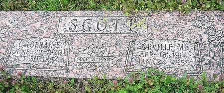 SCOTT, ORVILLE M - Jasper County, Missouri | ORVILLE M SCOTT - Missouri Gravestone Photos