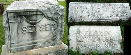 "SETSER, JAMES FLOYD ""FLOYD"" - Jasper County, Missouri | JAMES FLOYD ""FLOYD"" SETSER - Missouri Gravestone Photos"