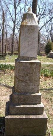 SIMPSON, MARY B - Jasper County, Missouri | MARY B SIMPSON - Missouri Gravestone Photos