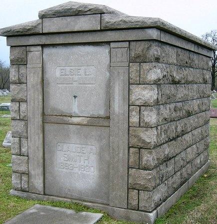 SMITH, CLAUDE A. - Jasper County, Missouri | CLAUDE A. SMITH - Missouri Gravestone Photos