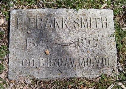 SMITH, H FRANK (VETERAN UNION) - Jasper County, Missouri | H FRANK (VETERAN UNION) SMITH - Missouri Gravestone Photos