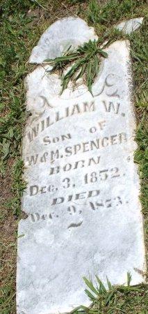 SPENCER, WILLIAM W - Jasper County, Missouri | WILLIAM W SPENCER - Missouri Gravestone Photos