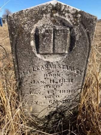 ARRASMITH STANLEY, LEANAH SUSANNAH - Jasper County, Missouri | LEANAH SUSANNAH ARRASMITH STANLEY - Missouri Gravestone Photos