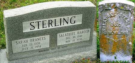 "STERLING, SARAH FRANCES ""FANNY"" - Jasper County, Missouri | SARAH FRANCES ""FANNY"" STERLING - Missouri Gravestone Photos"