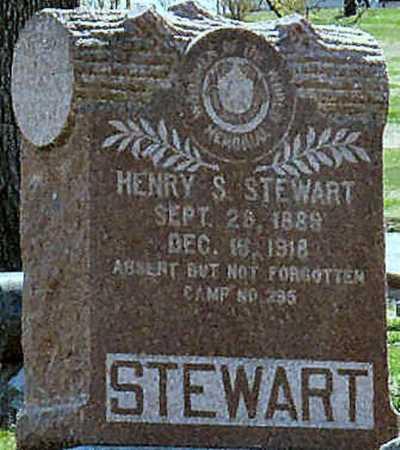 STEWART, HENRY S - Jasper County, Missouri | HENRY S STEWART - Missouri Gravestone Photos