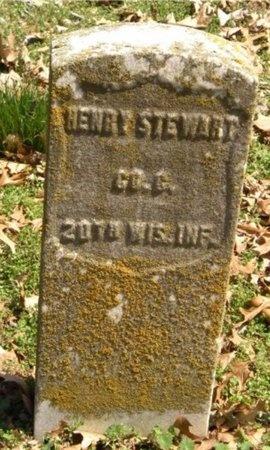 STEWART, HENRY (VETERAN UNION) - Jasper County, Missouri | HENRY (VETERAN UNION) STEWART - Missouri Gravestone Photos