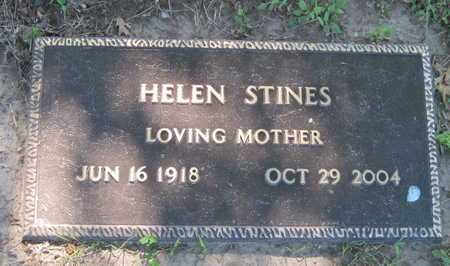 STINES, HELEN - Jasper County, Missouri | HELEN STINES - Missouri Gravestone Photos