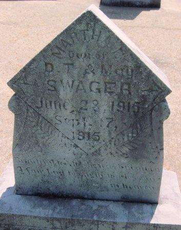 SWAGER, MARTHA E - Jasper County, Missouri | MARTHA E SWAGER - Missouri Gravestone Photos