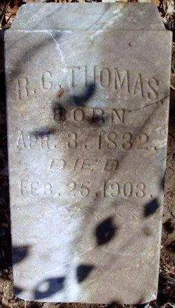 THOMAS, ROBERT COVINGTON - Jasper County, Missouri | ROBERT COVINGTON THOMAS - Missouri Gravestone Photos