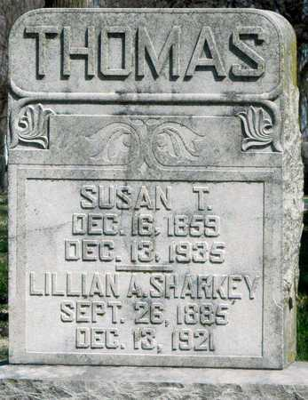 THOMAS, SUSAN T - Jasper County, Missouri | SUSAN T THOMAS - Missouri Gravestone Photos
