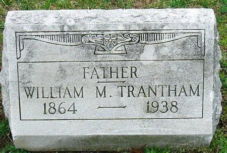 TRANTHAM, WILLIAM M. - Jasper County, Missouri | WILLIAM M. TRANTHAM - Missouri Gravestone Photos