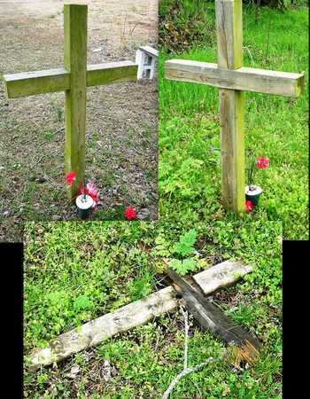 UNKNOWN, WOODEN CROSS - Jasper County, Missouri   WOODEN CROSS UNKNOWN - Missouri Gravestone Photos