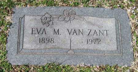 VAN ZANT, EVA M - Jasper County, Missouri | EVA M VAN ZANT - Missouri Gravestone Photos