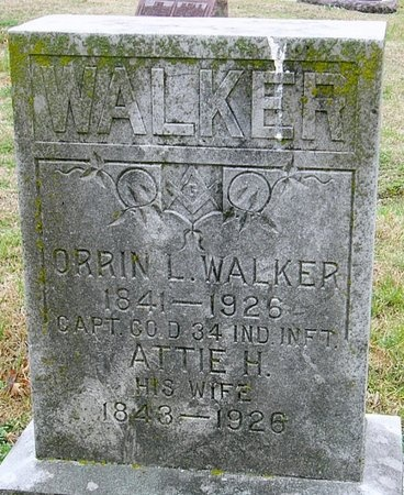 WALKER, ORRIN LEE (VETERAN UNION) - Jasper County, Missouri | ORRIN LEE (VETERAN UNION) WALKER - Missouri Gravestone Photos