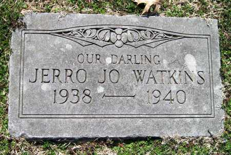 WATKINS, JERRO JO - Jasper County, Missouri | JERRO JO WATKINS - Missouri Gravestone Photos