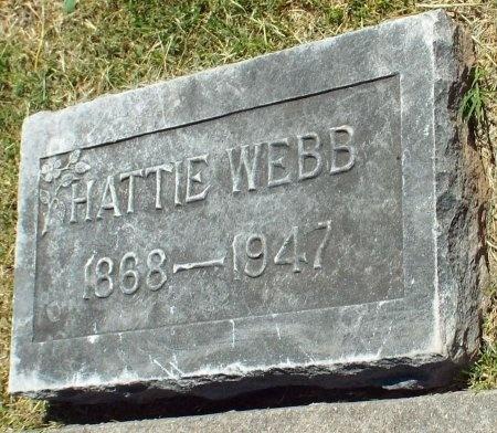 WEBB, HATTIE - Jasper County, Missouri | HATTIE WEBB - Missouri Gravestone Photos