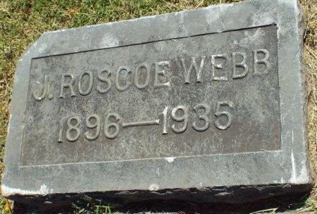 WEBB, J. ROSCOE - Jasper County, Missouri | J. ROSCOE WEBB - Missouri Gravestone Photos