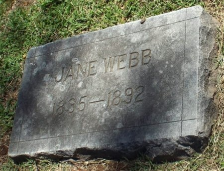 WEBB, JANE - Jasper County, Missouri | JANE WEBB - Missouri Gravestone Photos