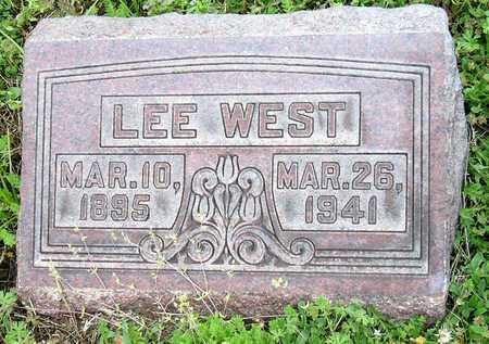 WEST, LEE - Jasper County, Missouri | LEE WEST - Missouri Gravestone Photos