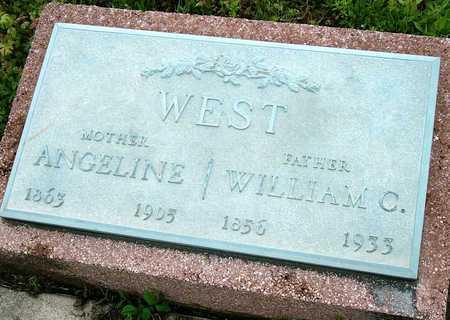 WEST, WILLIAM CARROL JR - Jasper County, Missouri | WILLIAM CARROL JR WEST - Missouri Gravestone Photos