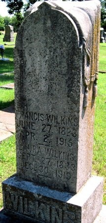 WILKINS, THOMAS FRANCIS - Jasper County, Missouri | THOMAS FRANCIS WILKINS - Missouri Gravestone Photos