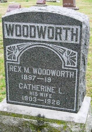 WOODWORTH, REX M. (MEMORIAL ONLY) - Jasper County, Missouri | REX M. (MEMORIAL ONLY) WOODWORTH - Missouri Gravestone Photos