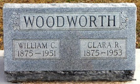 WOODWORTH, CLARA R. - Jasper County, Missouri | CLARA R. WOODWORTH - Missouri Gravestone Photos
